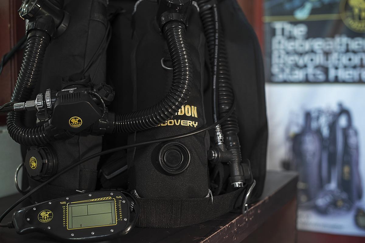 PADI Rebreather Courses for Poseidon MK VI & SE7EN in Bali with Gangga Divers