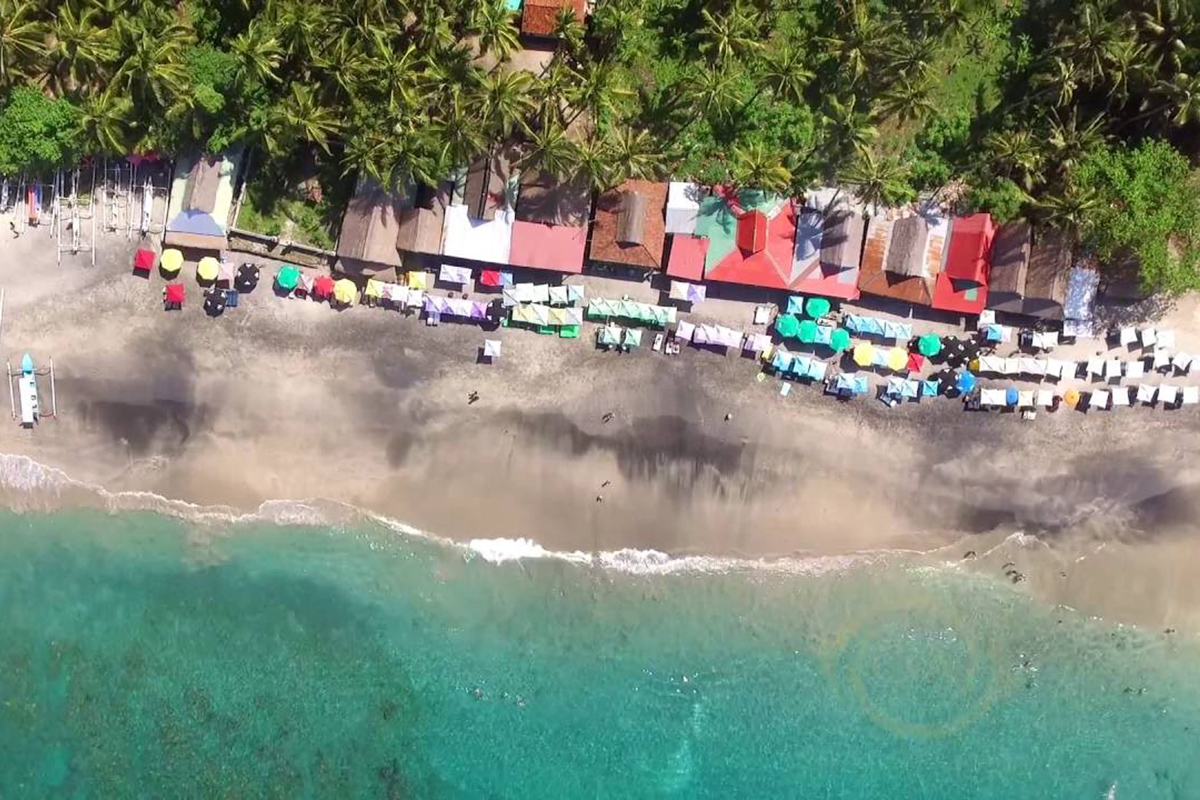 Virgin Beach at Karangasem Bali