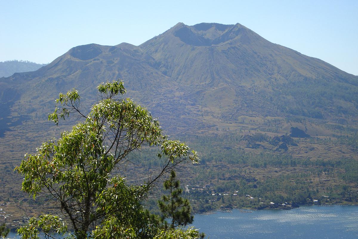 Mountain climbing in Bali, Indonesia