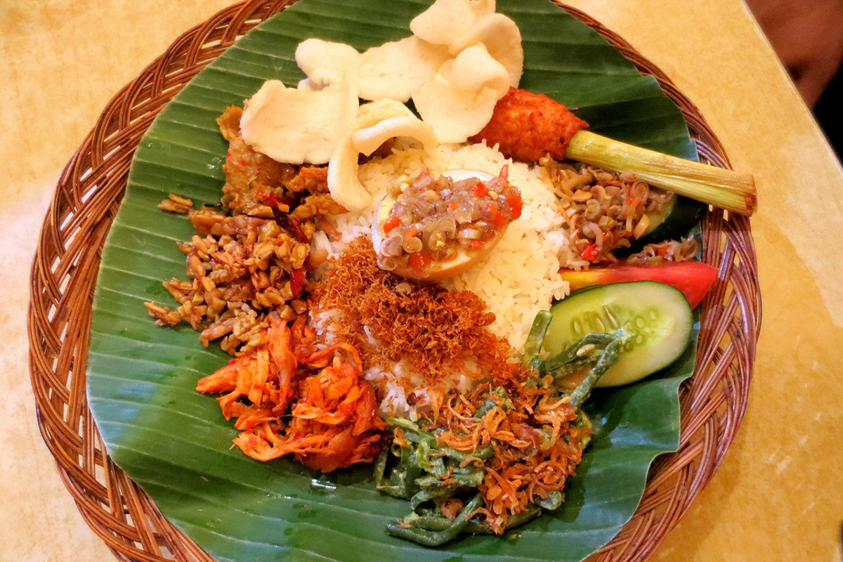 Local Traditional Balinese Food