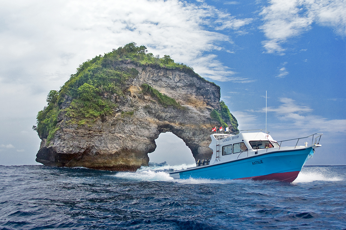 Diving Nusa Penida with Gangga Divers Bali