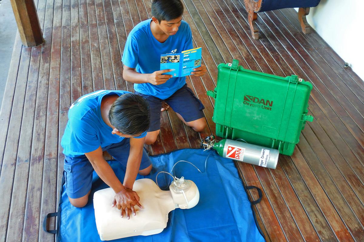 Become a Rescue Diver in Bali