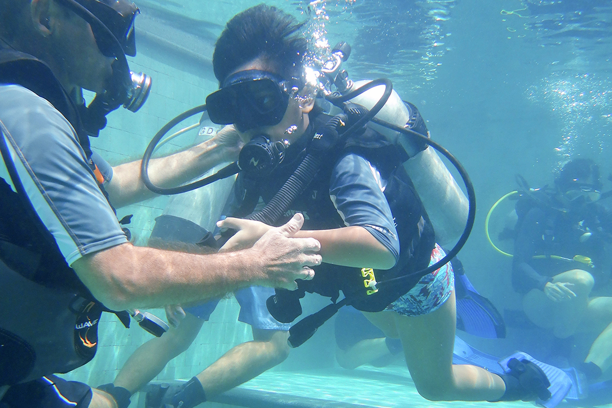 Diving Course for Kids in Candidasa