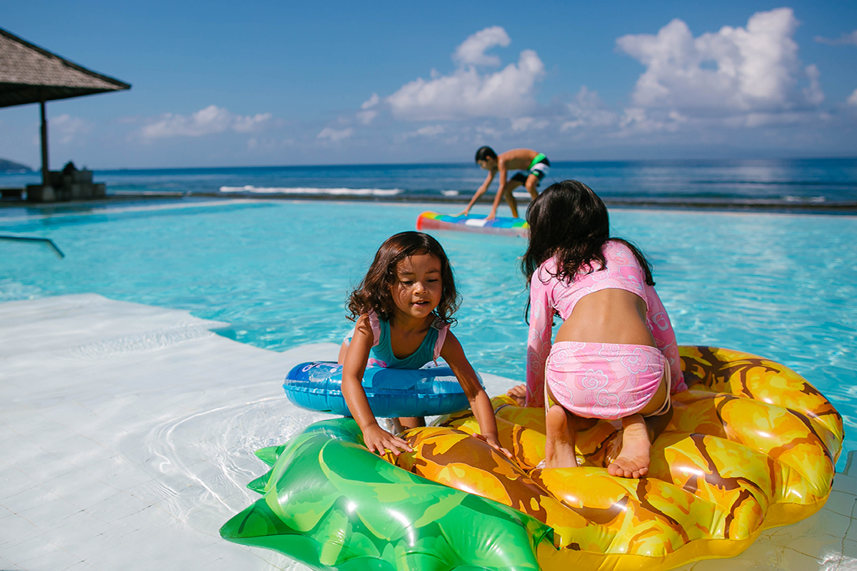Weekend Getaway with Kids in Candidasa